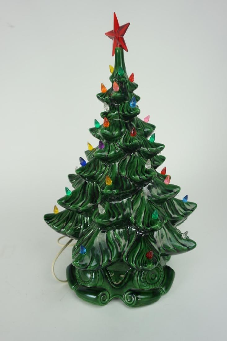 VINTAGE CERAMIC CHRISTMAS TREE - 4