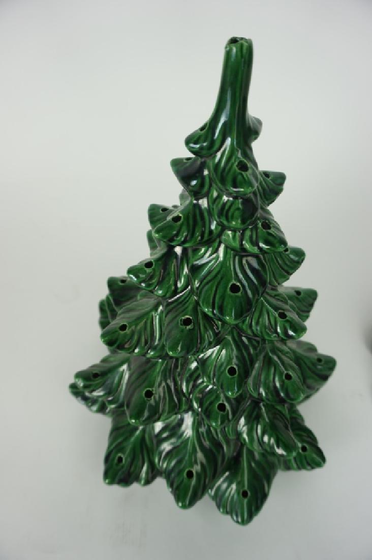VINTAGE CERAMIC CHRISTMAS TREE - 6
