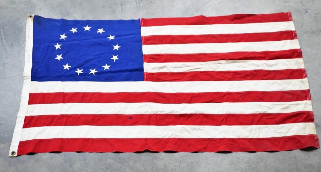 VINTAGE 13-STAR AMERICAN FLAG - 2