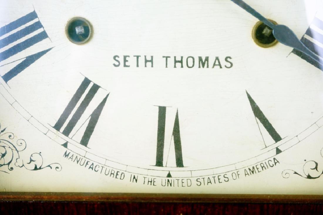 ANTIQUE SETH THOMAS 8 DAY OGEE CLOCK - 3