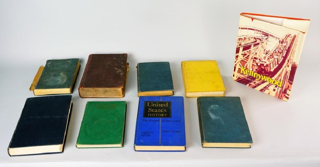 (9) ASSORTED VINTAGE BOOKS