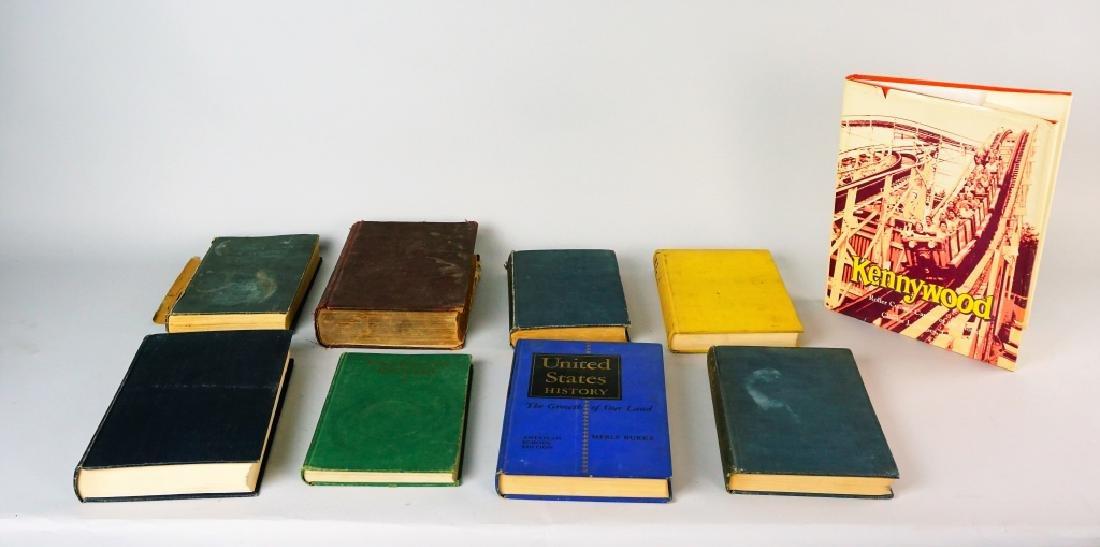 (9) ASSORTED VINTAGE BOOKS - 2