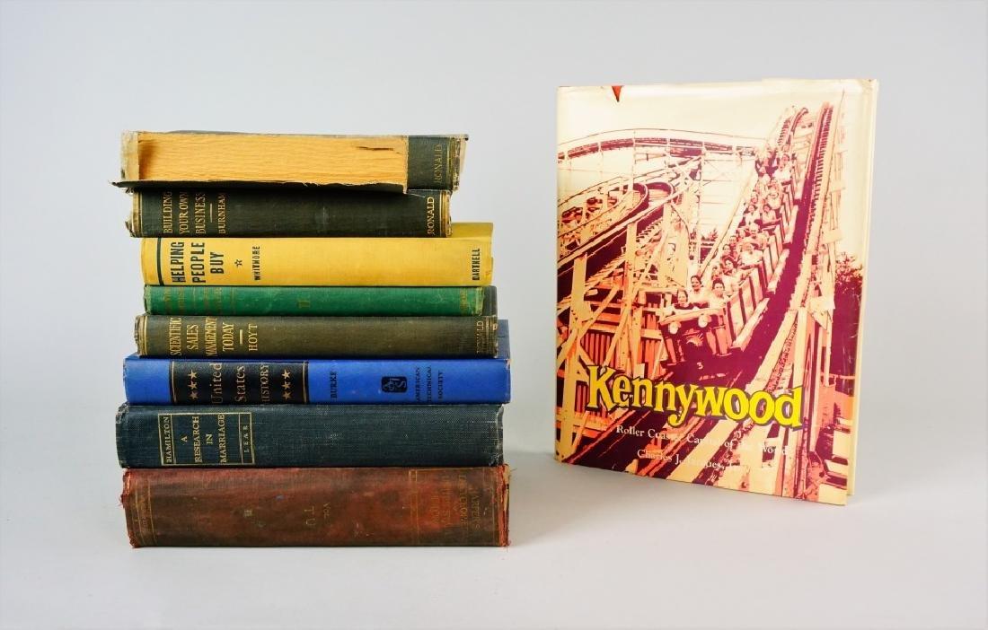 (9) ASSORTED VINTAGE BOOKS - 5