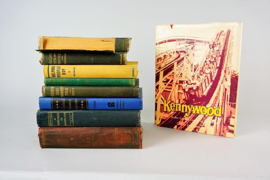 (9) ASSORTED VINTAGE BOOKS - 6