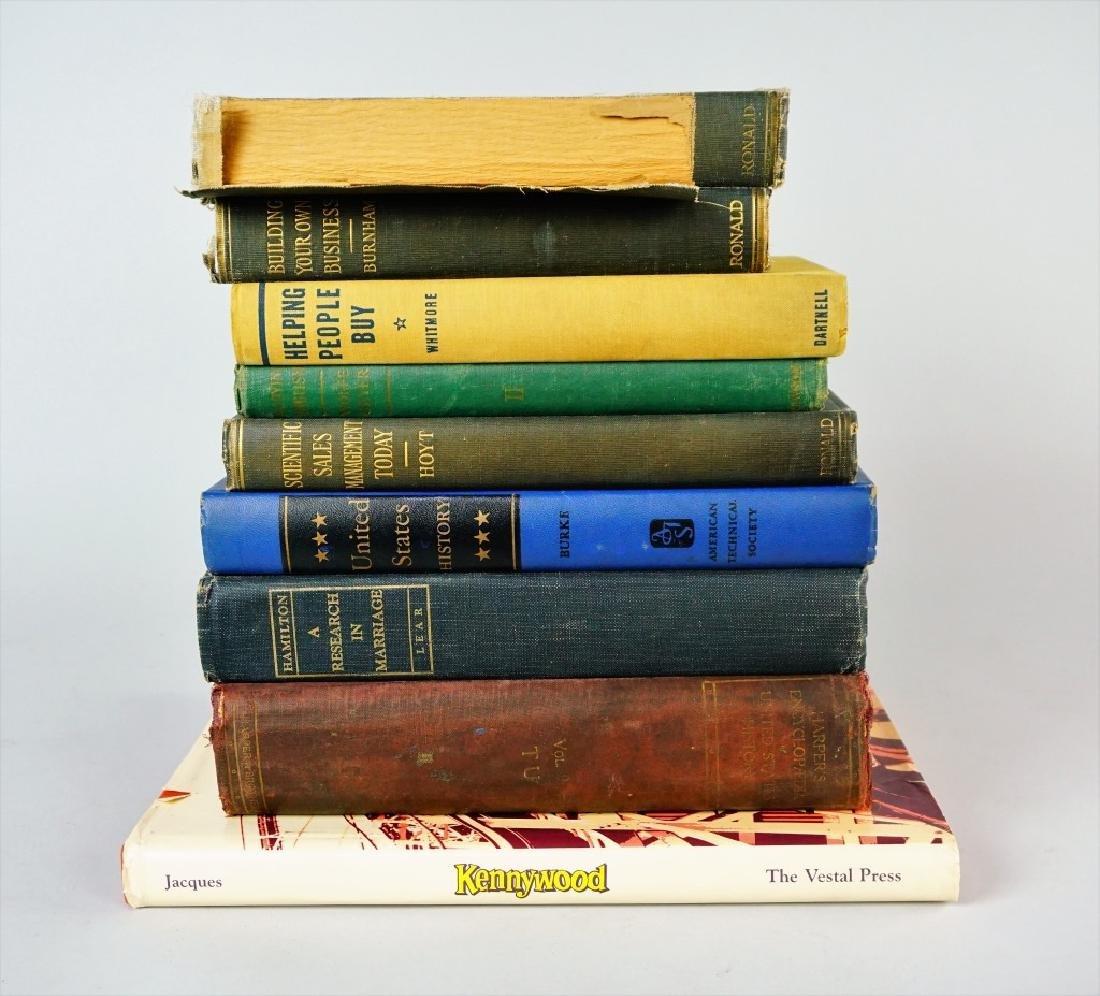 (9) ASSORTED VINTAGE BOOKS - 7