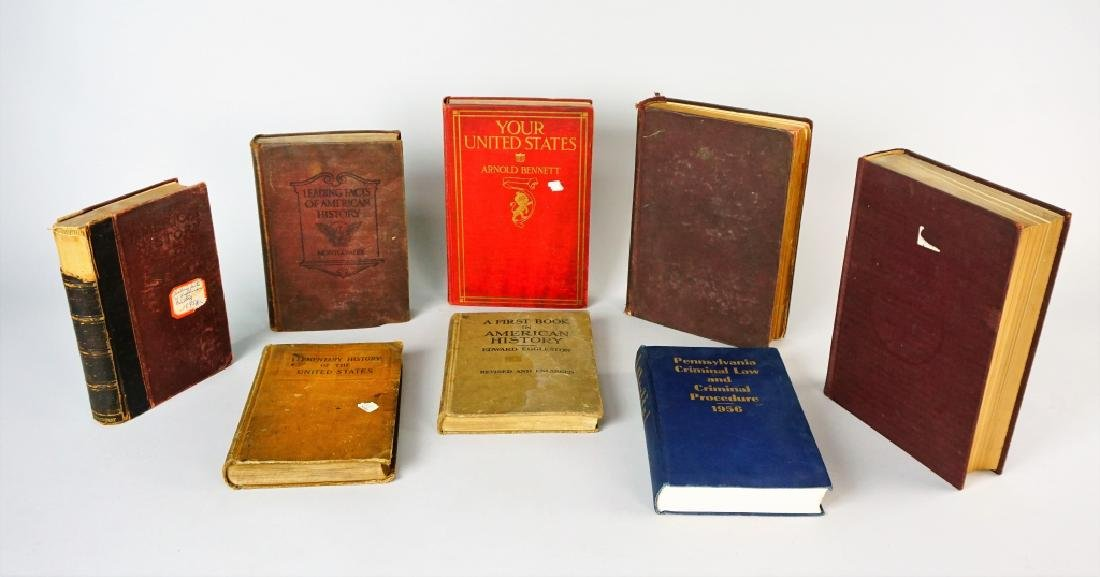 (8) ASSORTED VINTAGE BOOKS