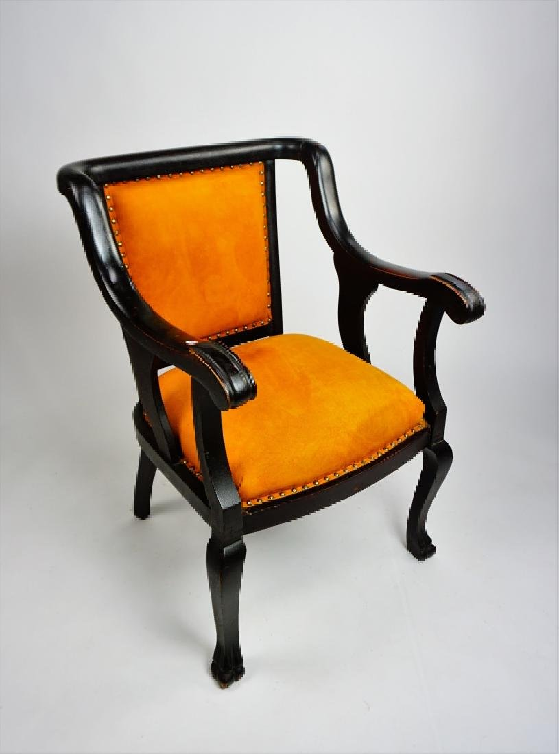 EMPIRE STYLE OPEN ARM CHAIR - 2