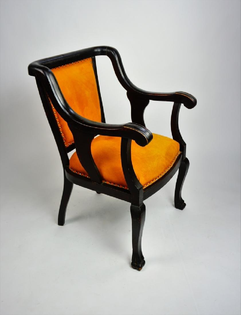 EMPIRE STYLE OPEN ARM CHAIR - 4