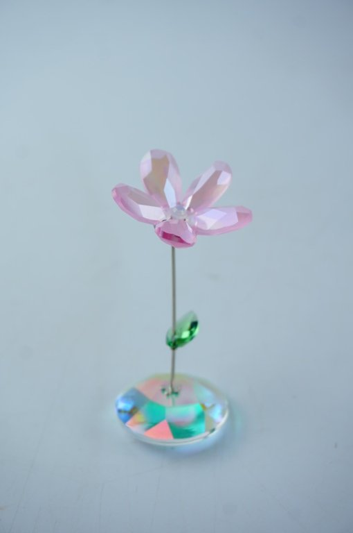 (7) ASSORTED CRYSTAL GLASS FIGURINES - 10