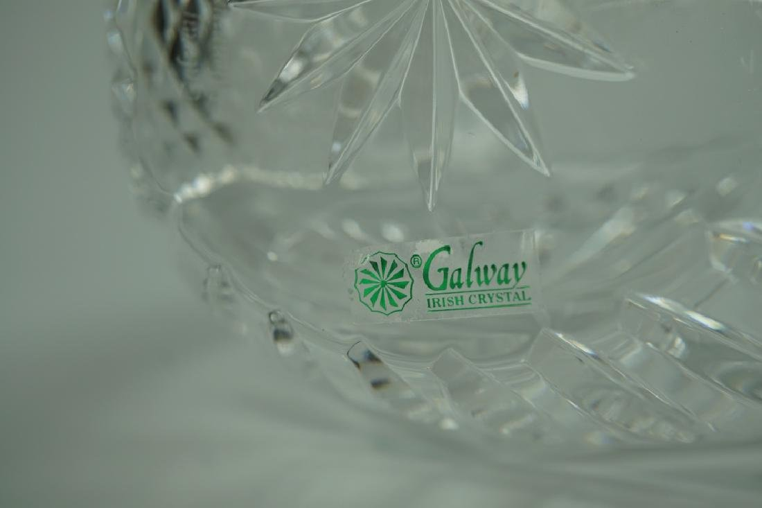 GALWAY IRISH CRYSTAL MILLENNIUM VASE - 5
