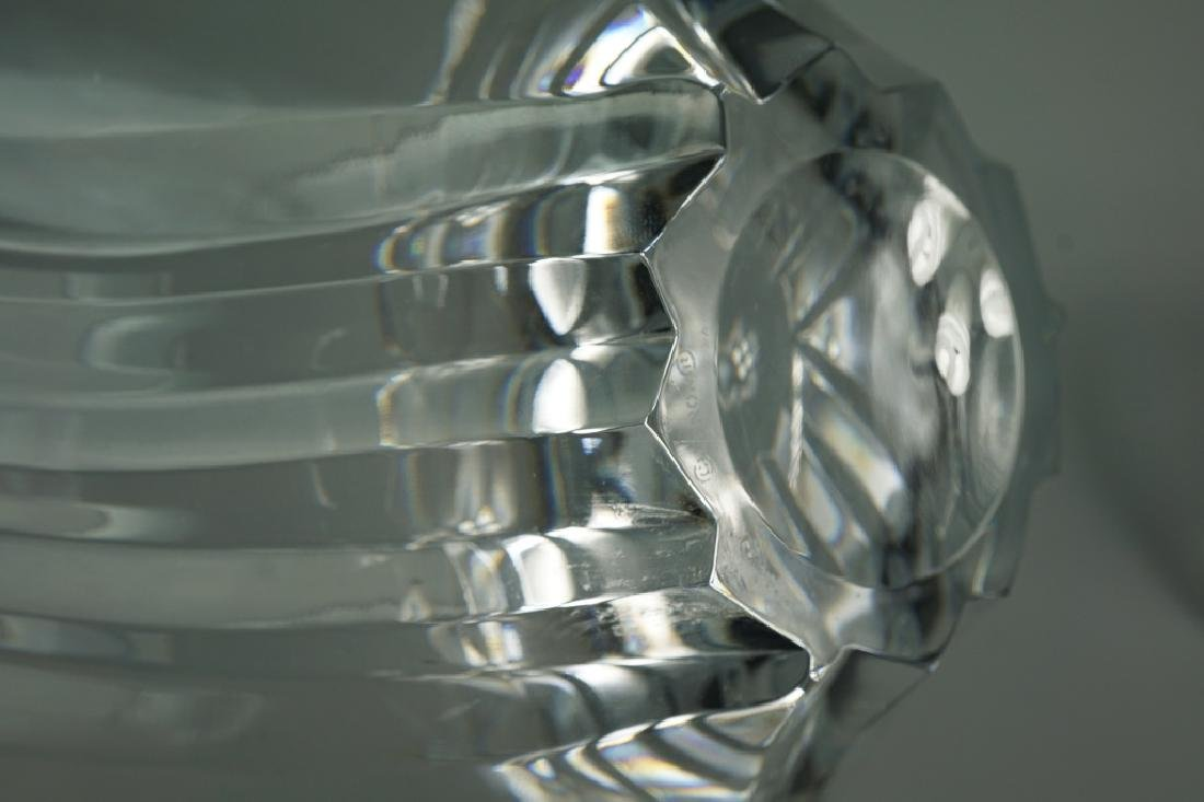 3pcs ASSORTED CUT AND ETCHED CRYSTAL - 5