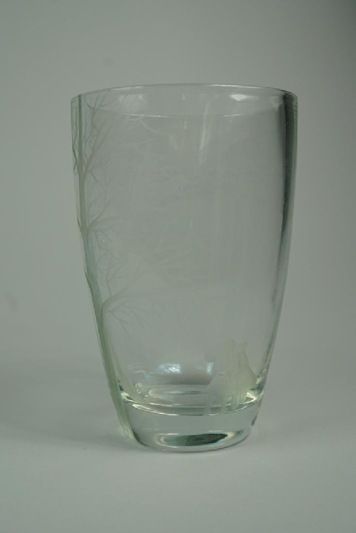 3pcs ASSORTED CUT AND ETCHED CRYSTAL - 6