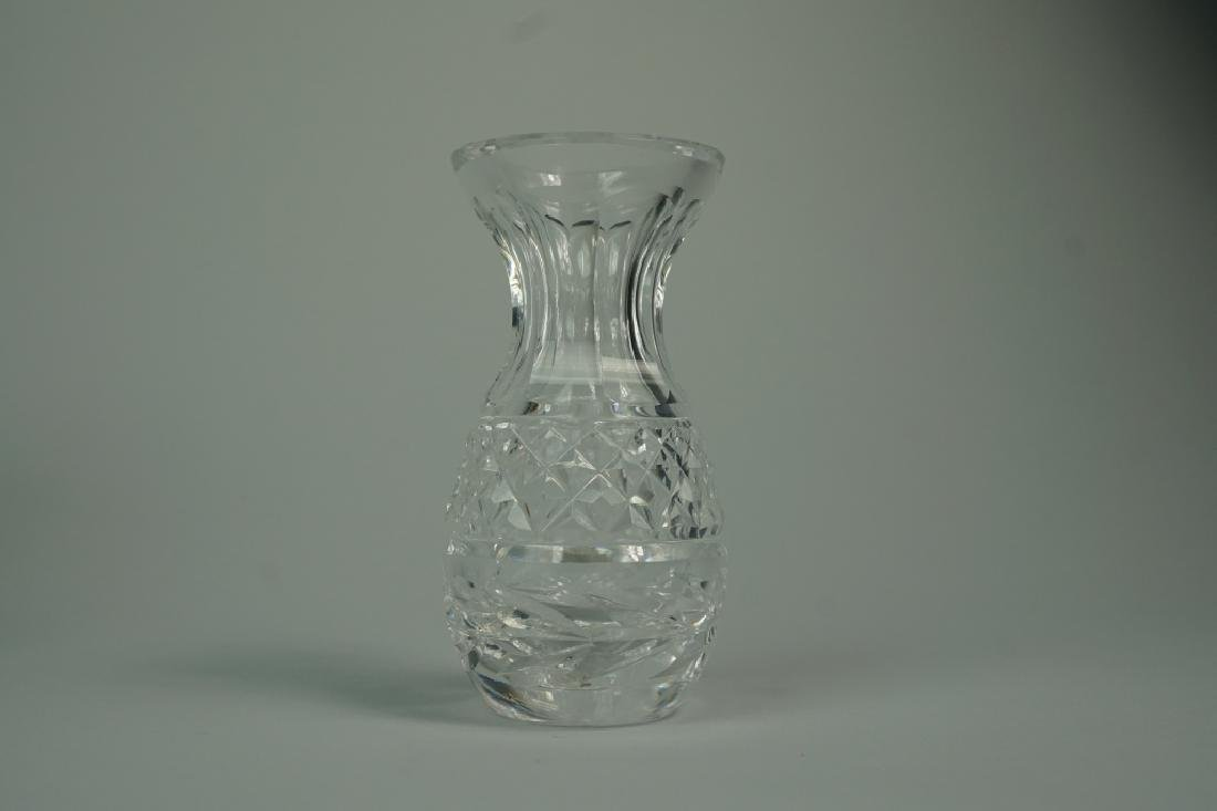 3pcs ASSORTED CUT AND ETCHED CRYSTAL - 7