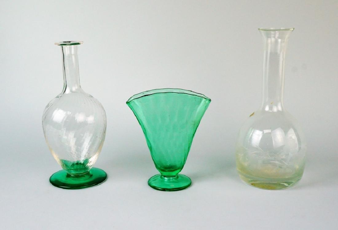 3pcs ASSORTED ART GLASS - 2