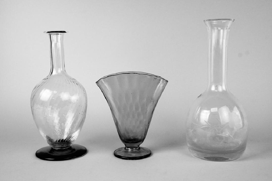 3pcs ASSORTED ART GLASS - 5