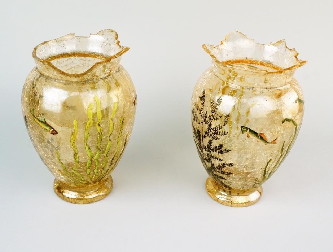 4pcs ASSORTED ART GLASS - 7