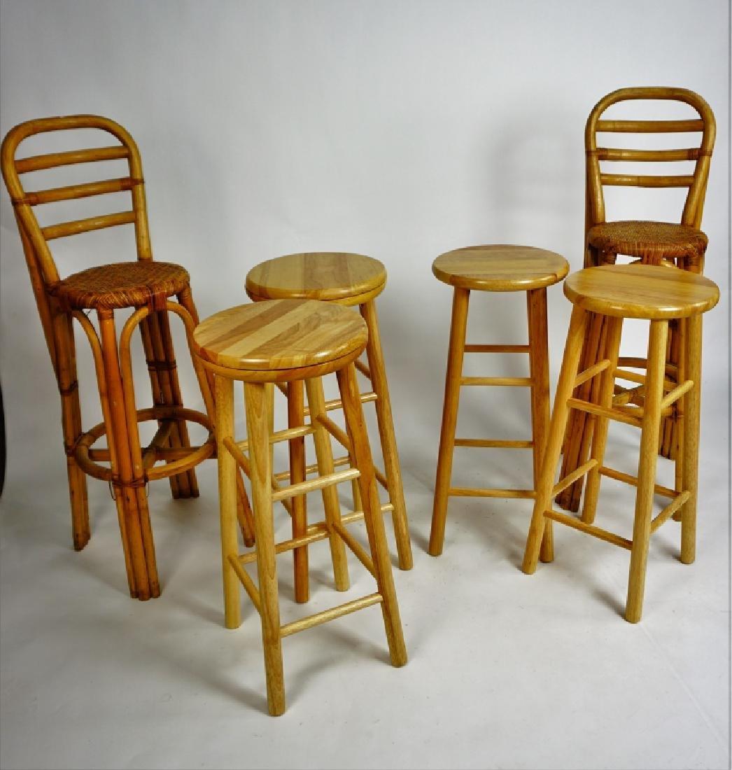 (6) ASSORTED BAR STOOLS - 2