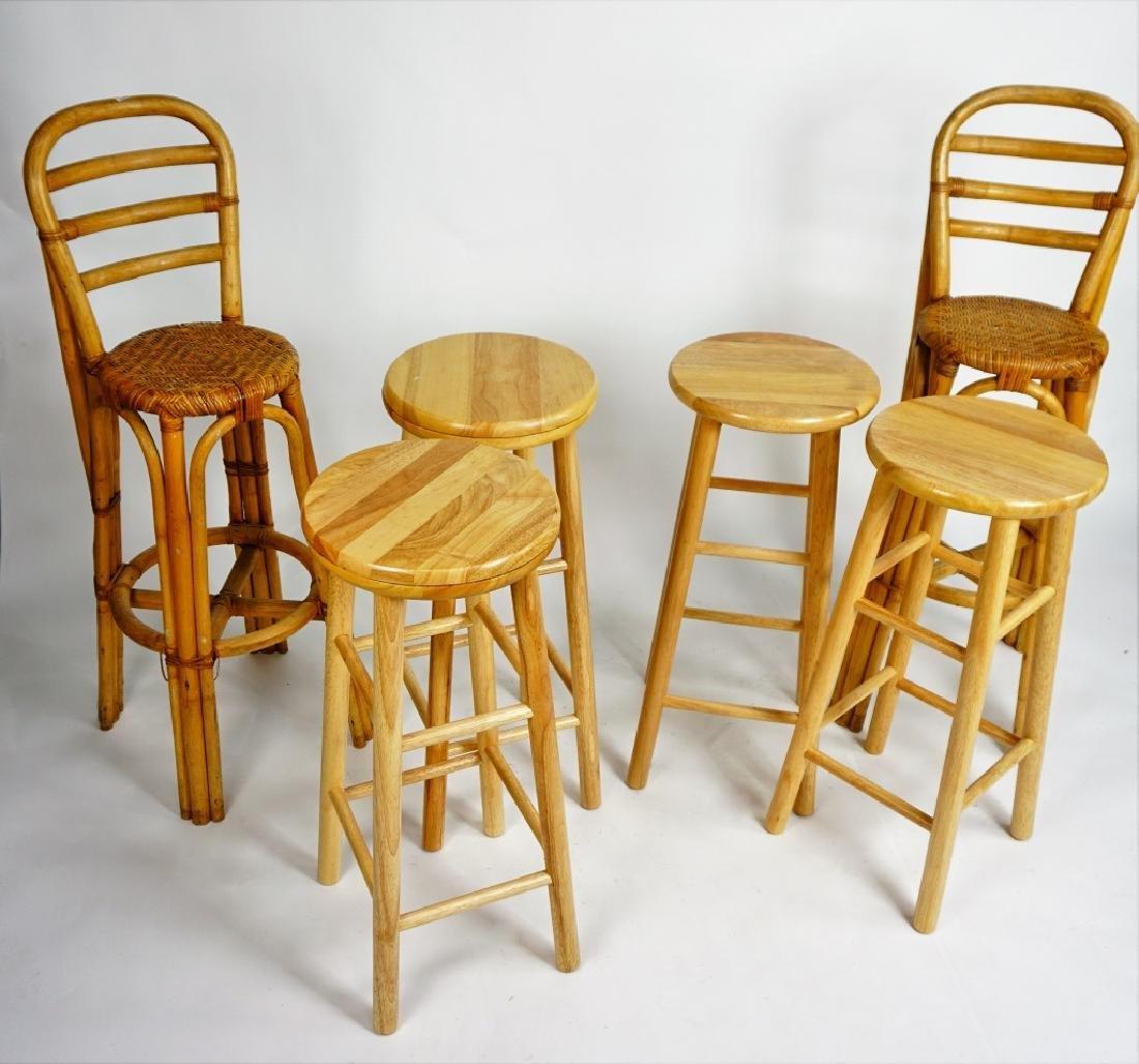 (6) ASSORTED BAR STOOLS - 5