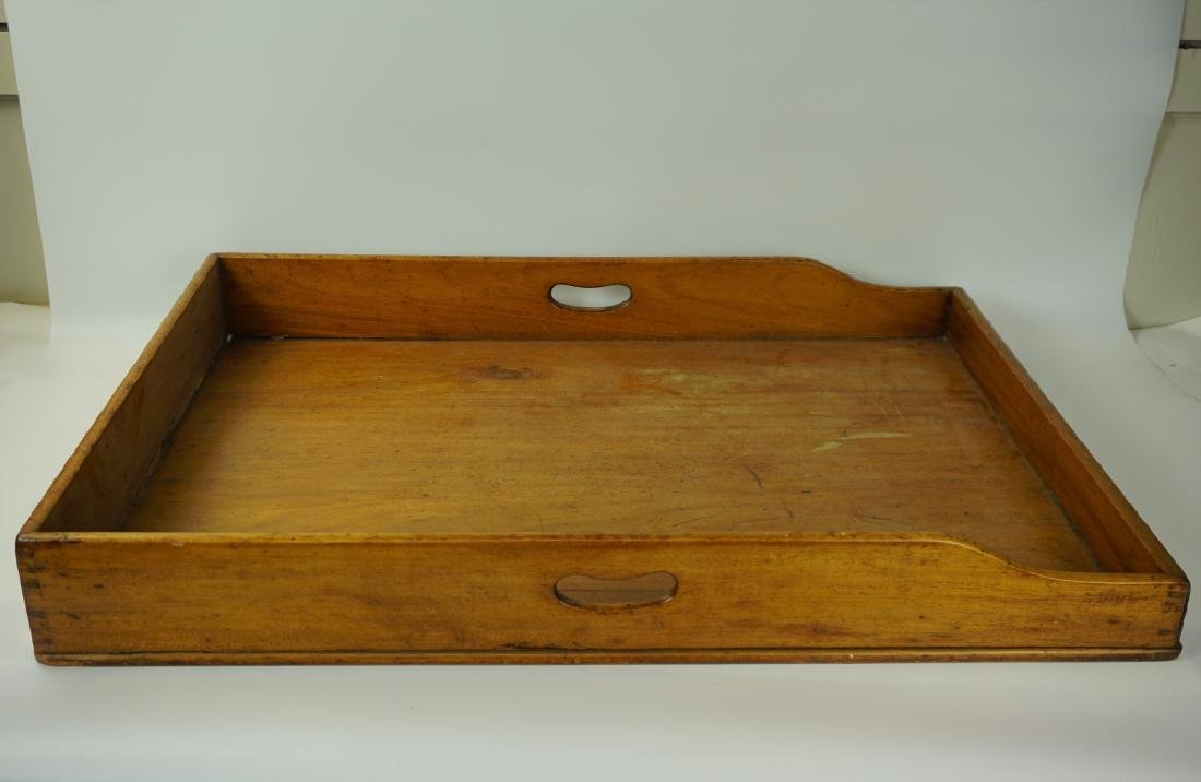 19TH CENTURY BUTLERS TRAY