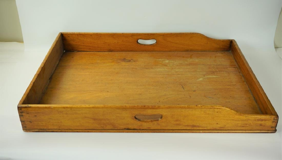 19TH CENTURY BUTLERS TRAY - 2