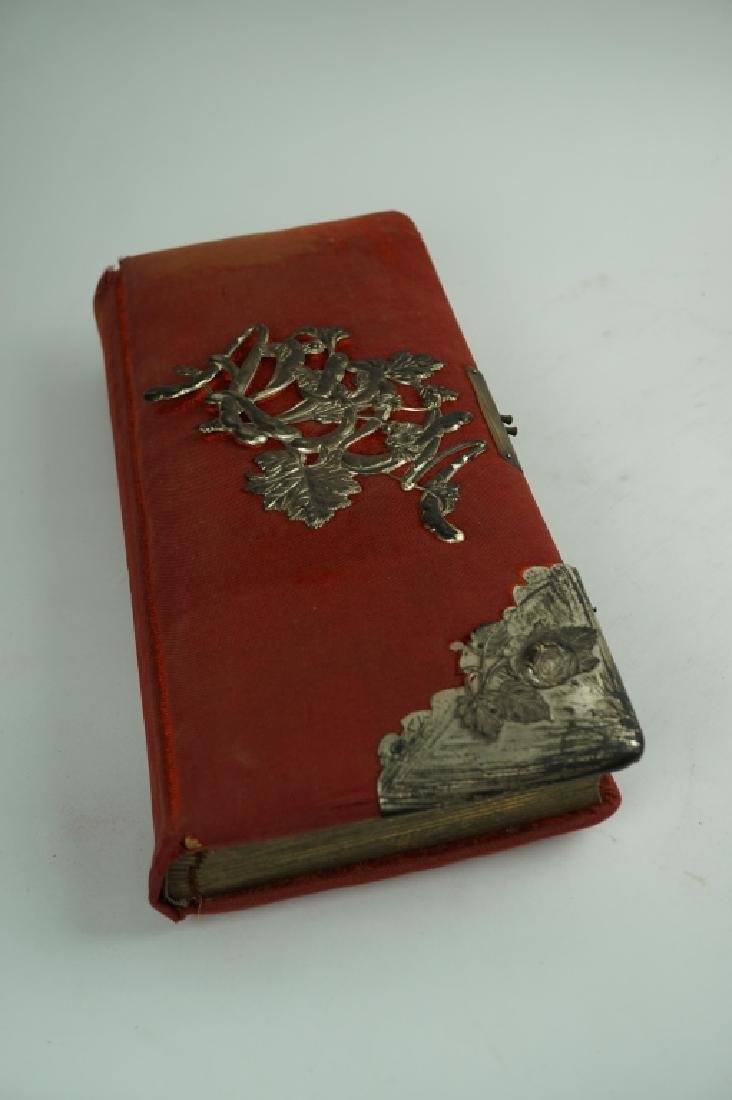 (2) ANTIQUE PHOTO ALBUM BOOKS - 4