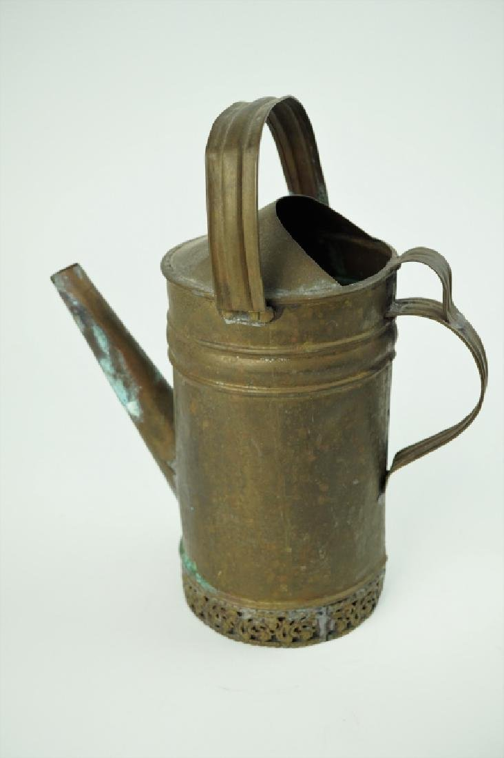 VINTAGE BRASS OIL PITCHER