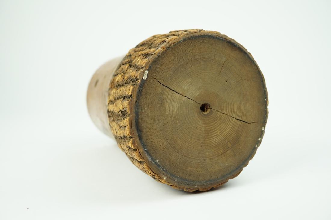 ANTIQUE TREEN-WARE MUG - 4