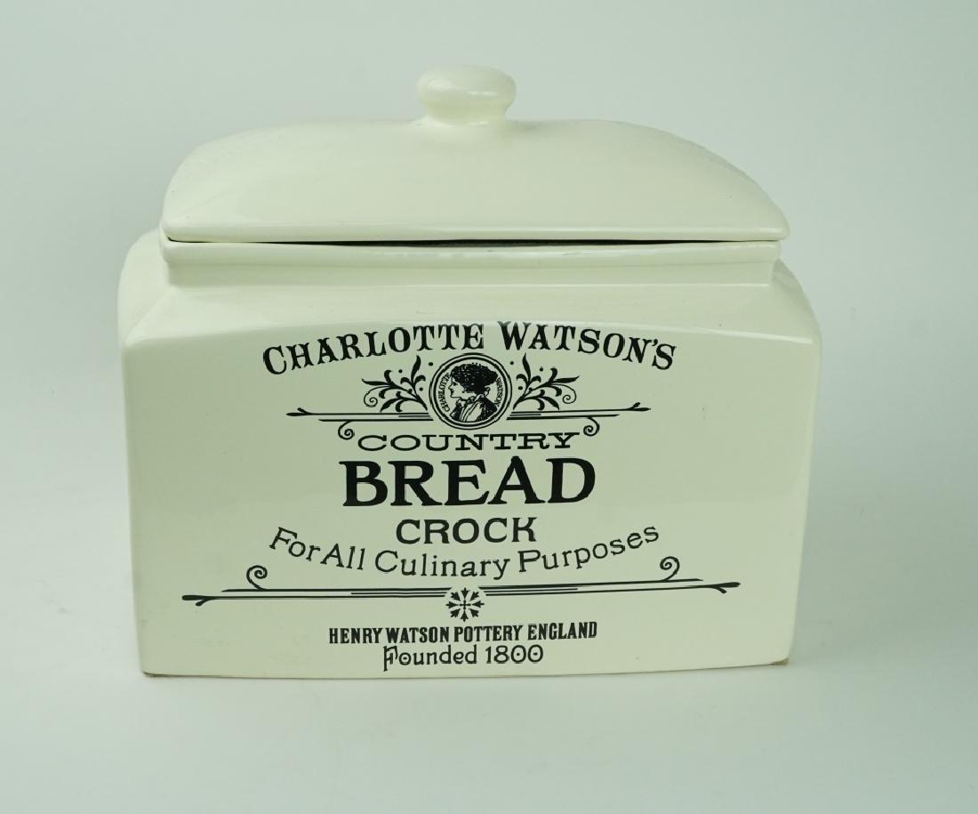 CHARLUTTE WATSON BREAD CROCK