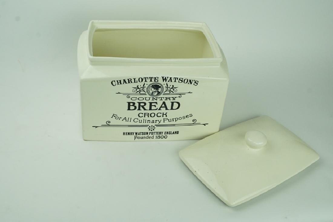 CHARLUTTE WATSON BREAD CROCK - 3
