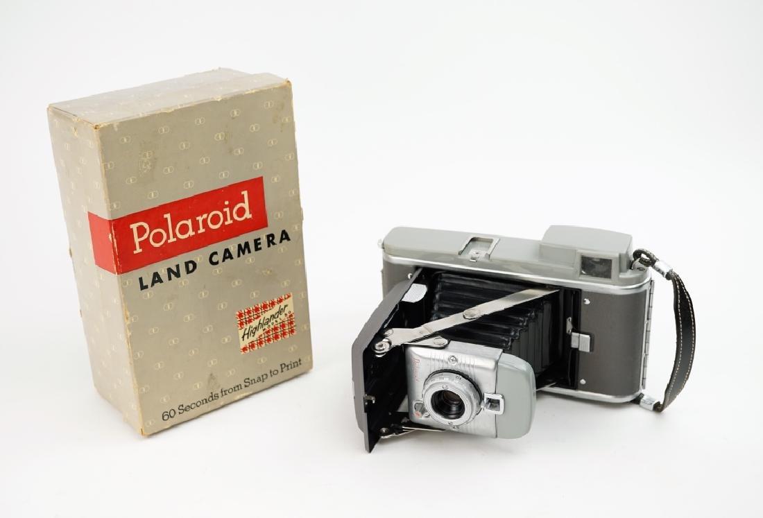 POLAROID LAND CAMERA IN ORIGINAL BOX - 4