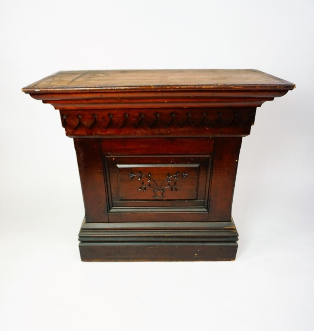 ANTIQUE GOTHIC STYLE PULPIT/LECTURN