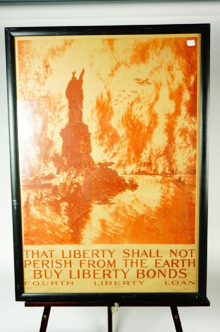 EARLY 20th CENTURY LIBERTY BOND PROMOTIONAL POSTER