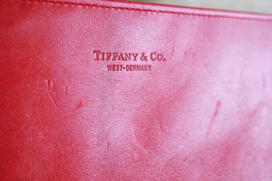 TIFFANY & CO VINTAGE LEATHER JEWELRY ROLL CASE