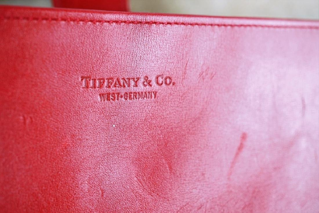 TIFFANY & CO VINTAGE LEATHER JEWELRY ROLL CASE - 2