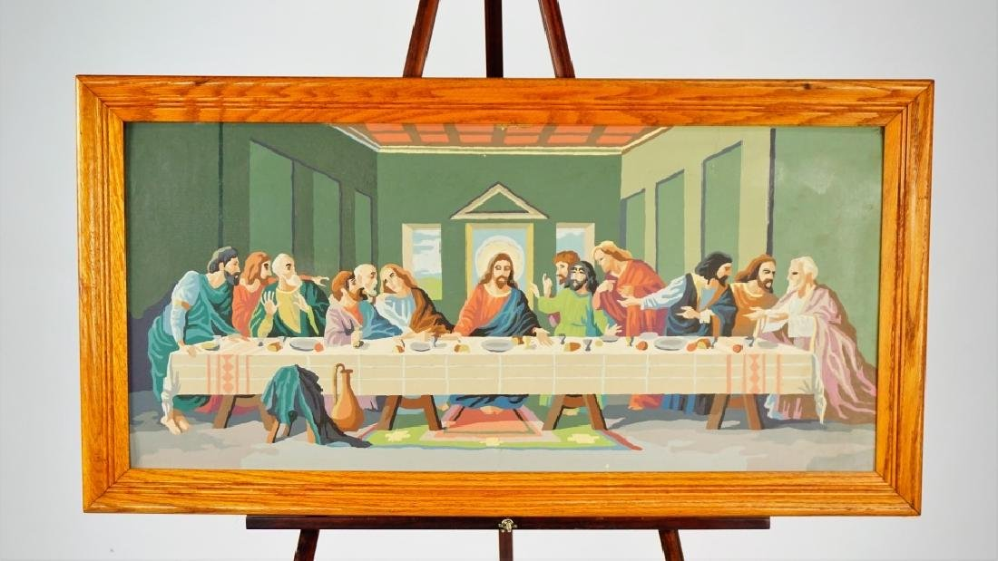THE LAST SUPPER PAINT BY NUMBER