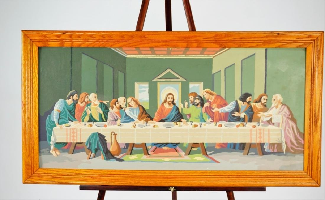THE LAST SUPPER PAINT BY NUMBER - 2