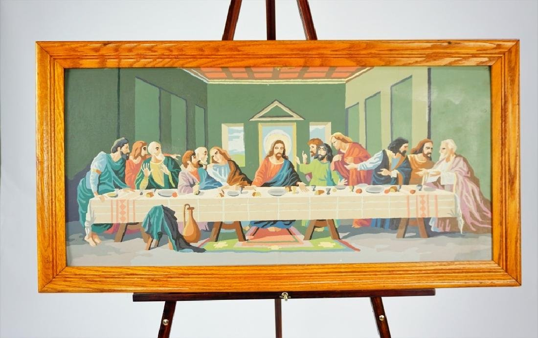 THE LAST SUPPER PAINT BY NUMBER - 7