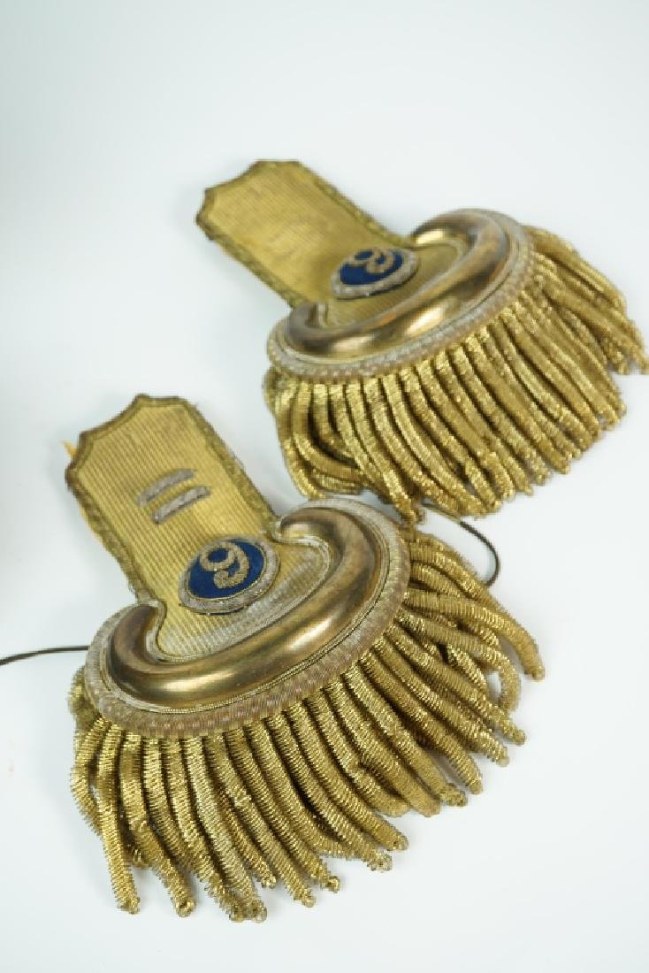 CIVIL WAR ERA UNION ARMY EPAULETTES - 3