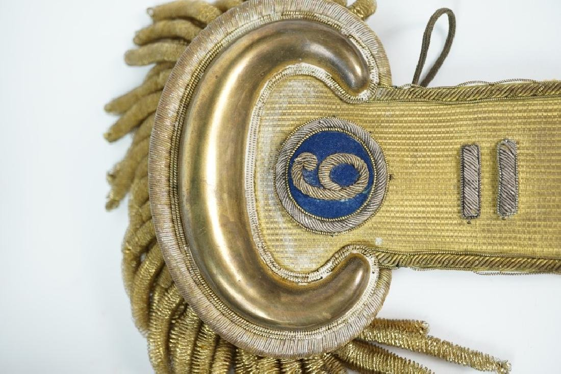 CIVIL WAR ERA UNION ARMY EPAULETTES - 5