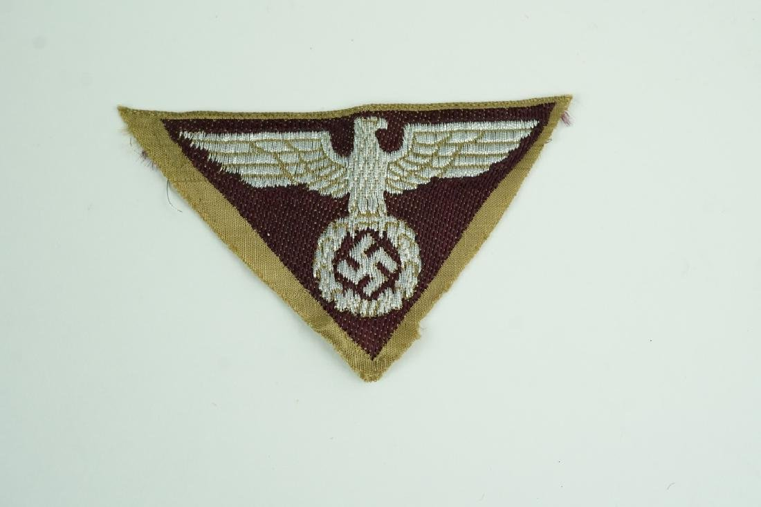 WORLD WAR II GERMAN EAGLE PATCH