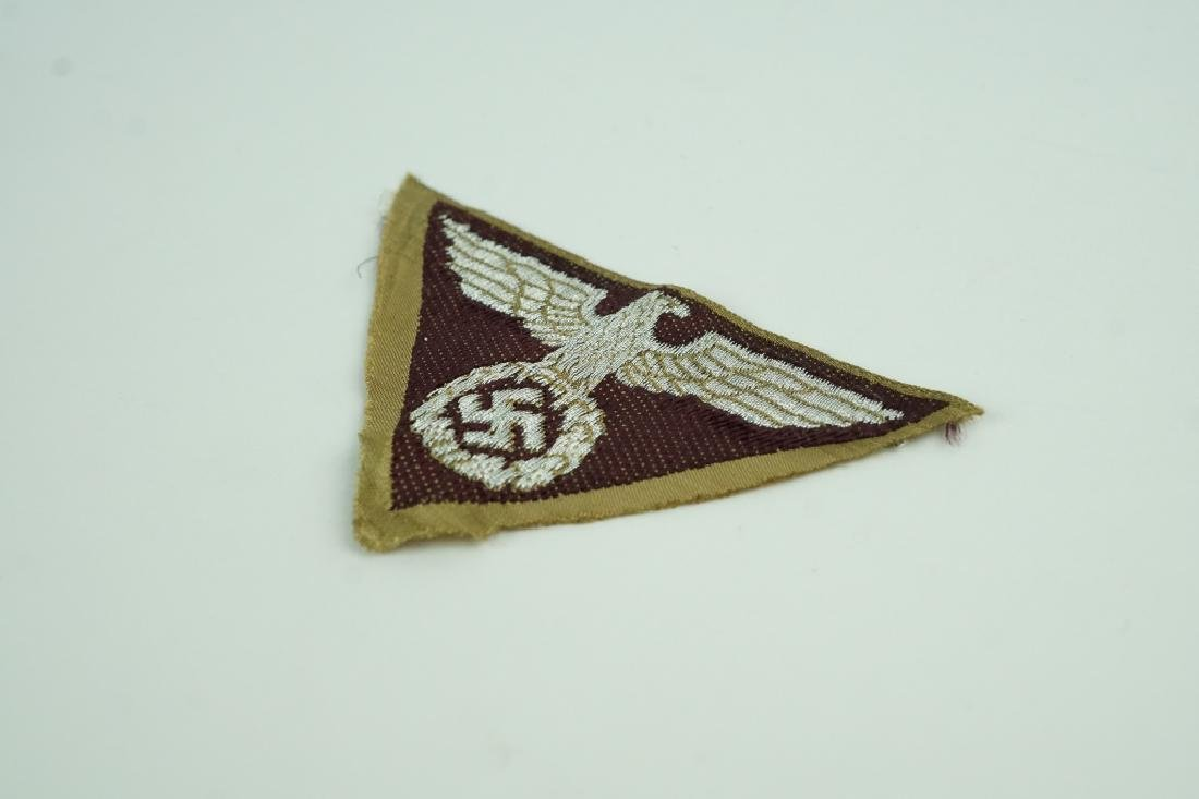 WORLD WAR II GERMAN EAGLE PATCH - 2