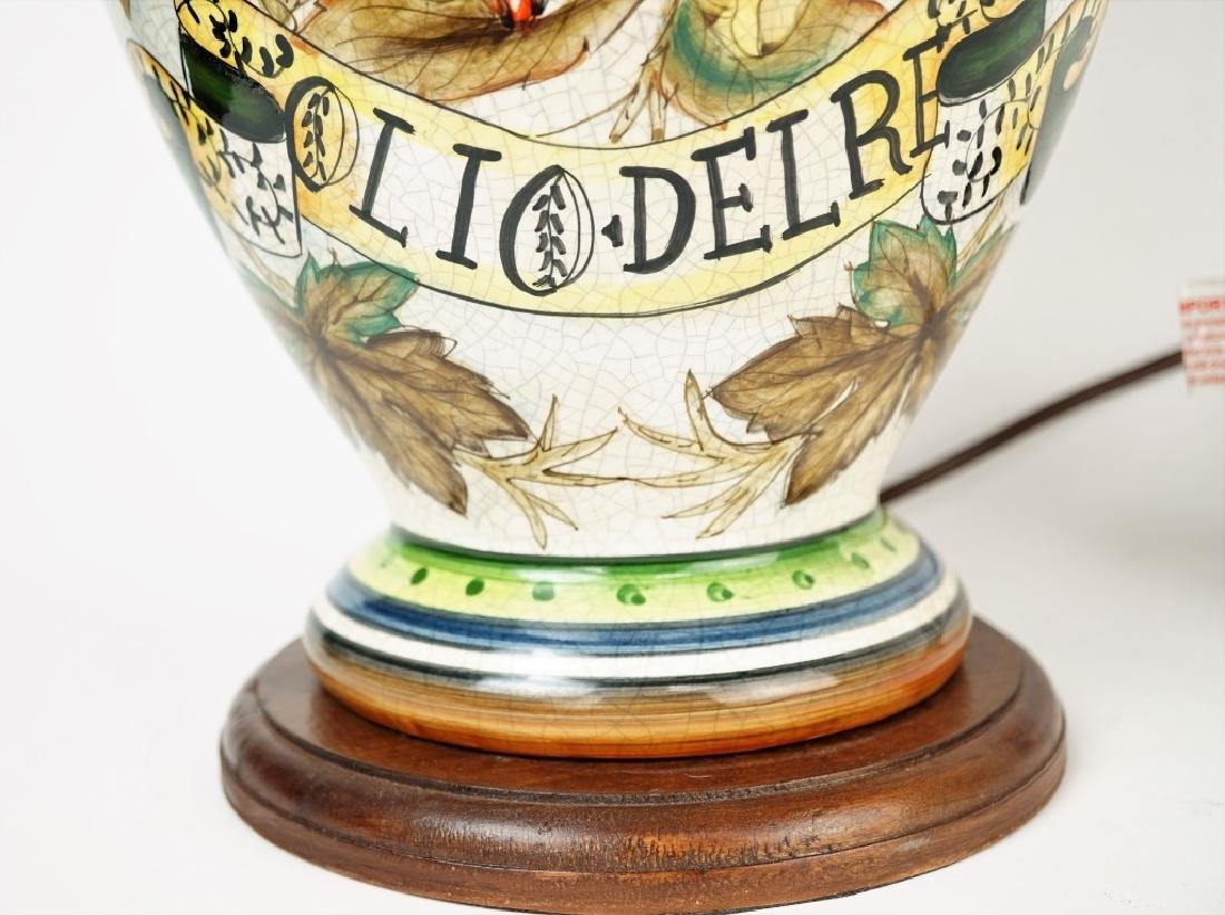 TUSCAN OLIO DEL RE TABLE LAMP - 2