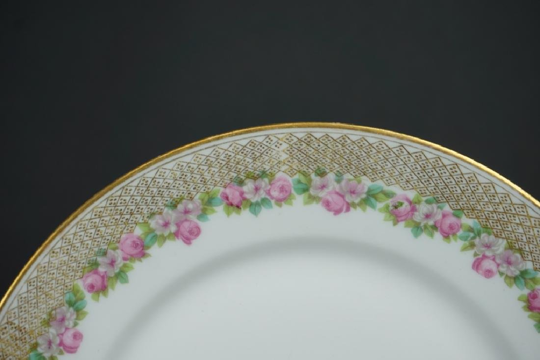 (12) WM GUERIN & CO LIMOGES SALAD PLATES