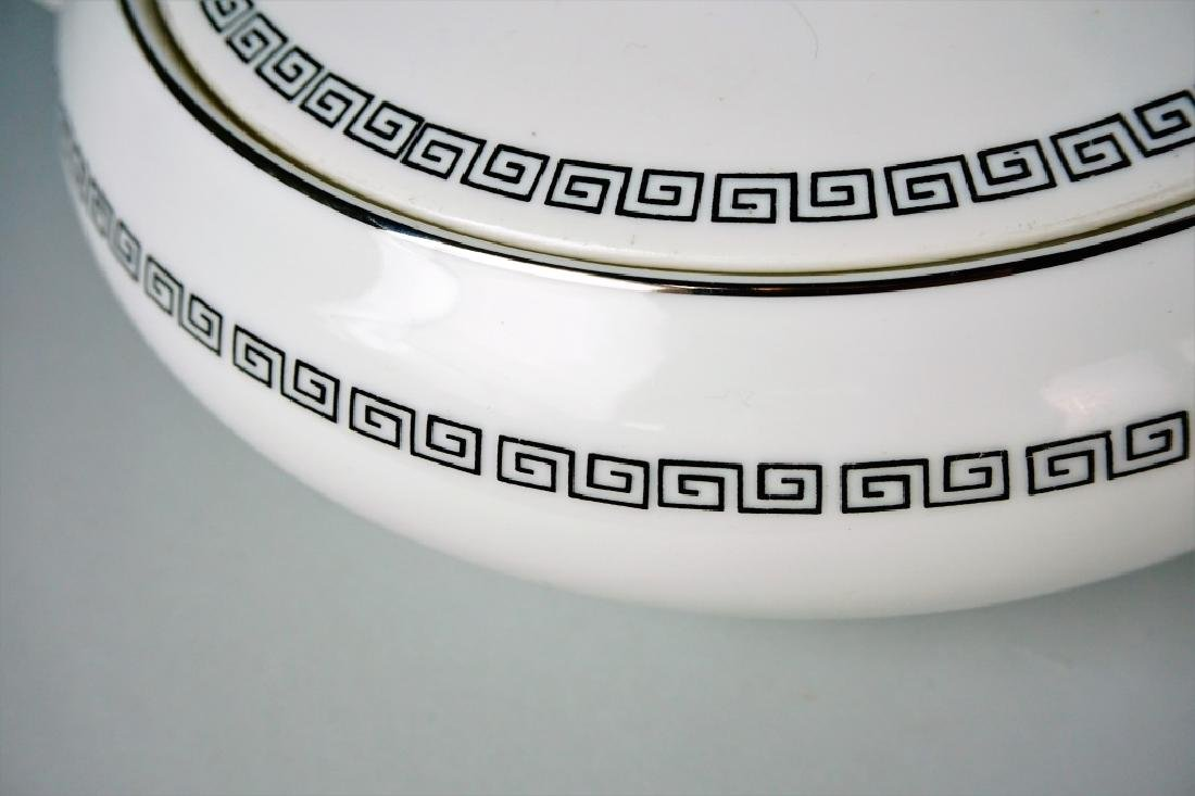 85pc CROWN EMPIRE CHINA MARQUIS DINNER SERVICE - 10