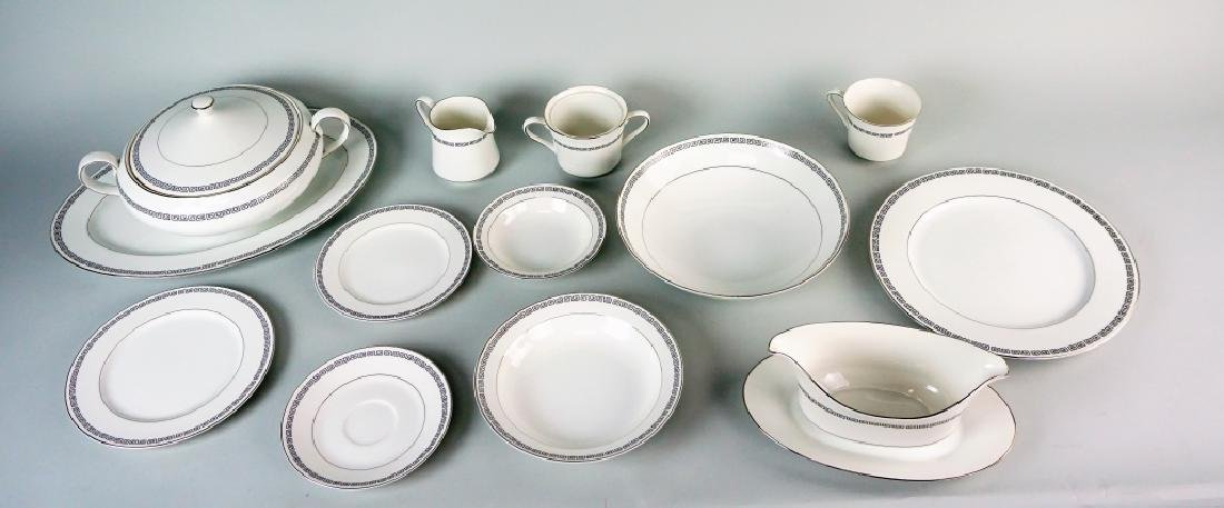 85pc CROWN EMPIRE CHINA MARQUIS DINNER SERVICE - 6