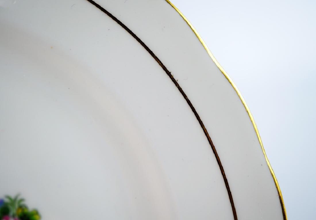 (4) ROYAL PLATES - 9