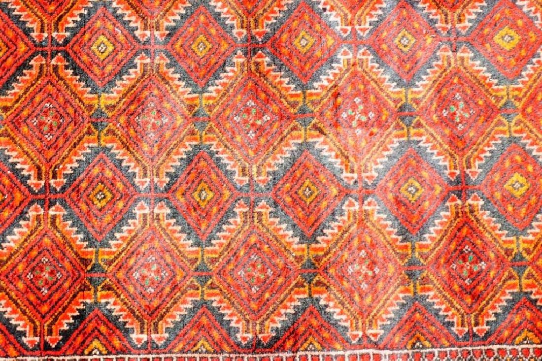 ANTIQUE PERSIAN BALOUCH THROW RUG - 4