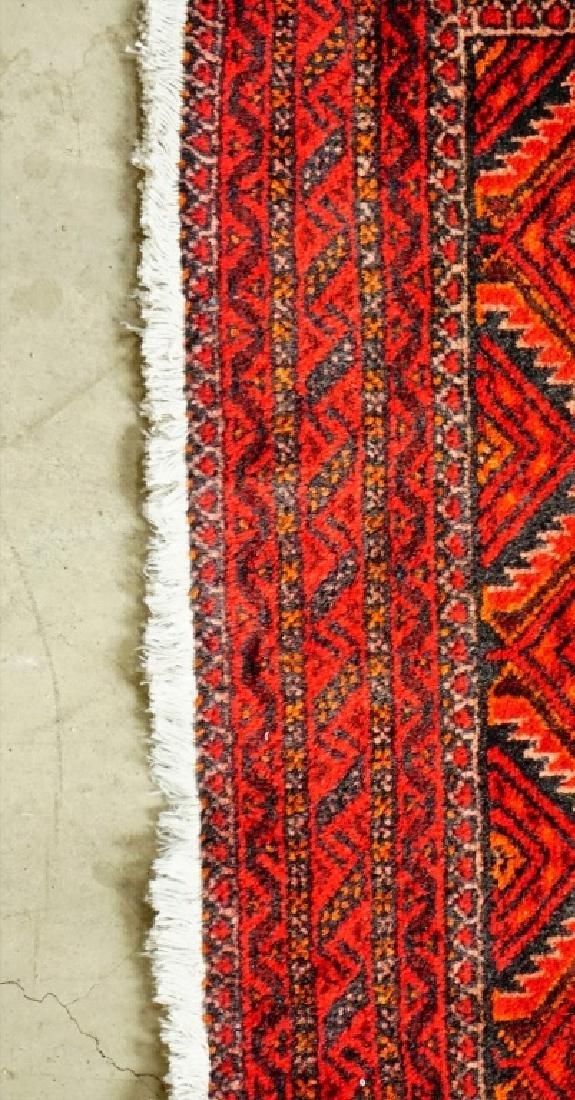 ANTIQUE PERSIAN BALOUCH THROW RUG - 5