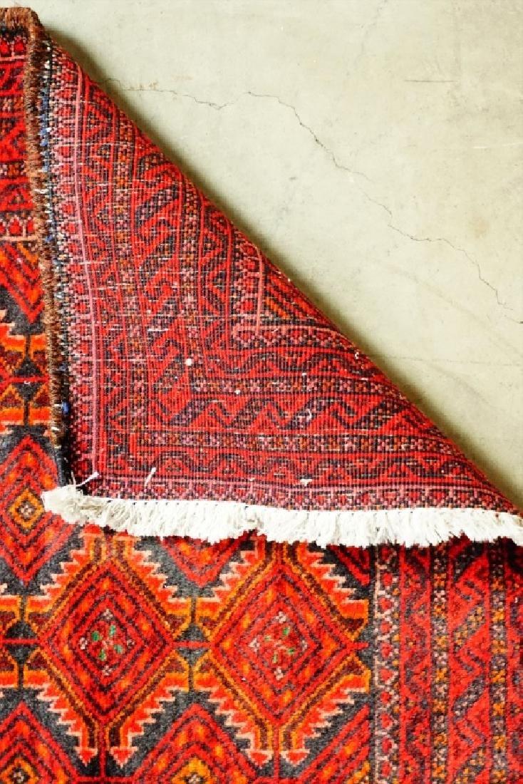 ANTIQUE PERSIAN BALOUCH THROW RUG - 6