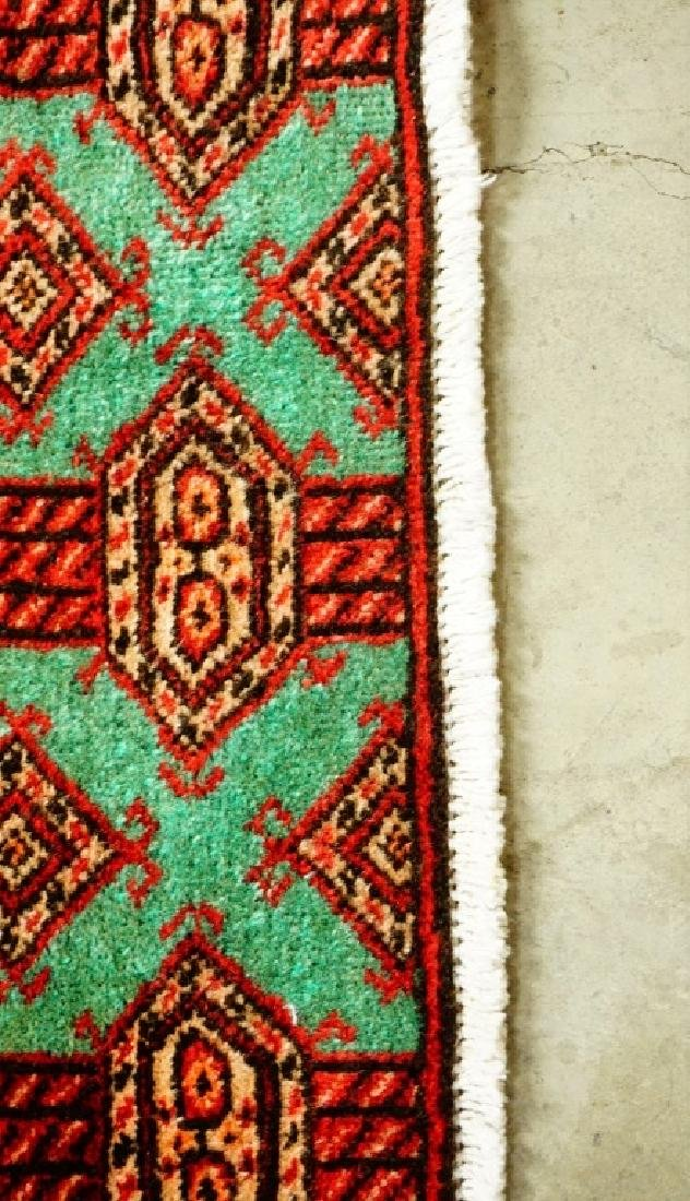 ANTIUQE PERSIAN BALOUCH THROW RUG - 4